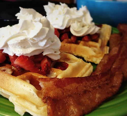 The best waffle recipe ever. No, I mean it. For reals.