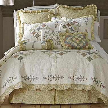 Quincy Quilt & More - jcpenney | Shopping for bedding | Pinterest