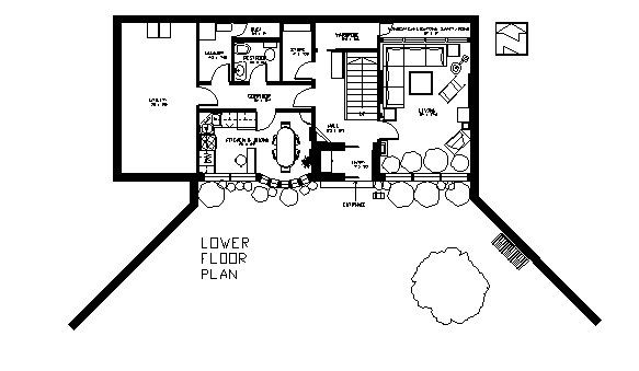 Earth Sheltered Two Floor House Plan Underground Home