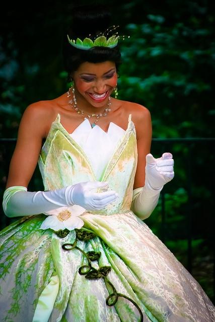 Disney Princess Tiana.