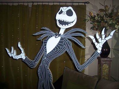 Nightmare Before Christmas Life-sized Jack Skellington Cut out stande ... Nightmare Before Christmas Jack