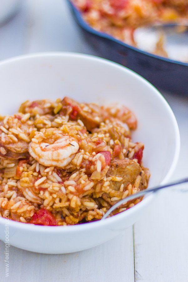 Chorizo And Shrimp Rice Recipe — Dishmaps