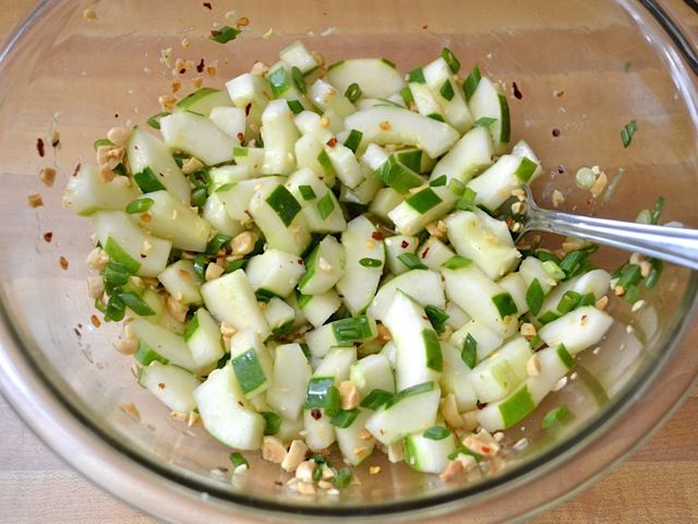 Cold Soba & Cucumber Salad - Budget Bytes gotta sub honey for sugar ...