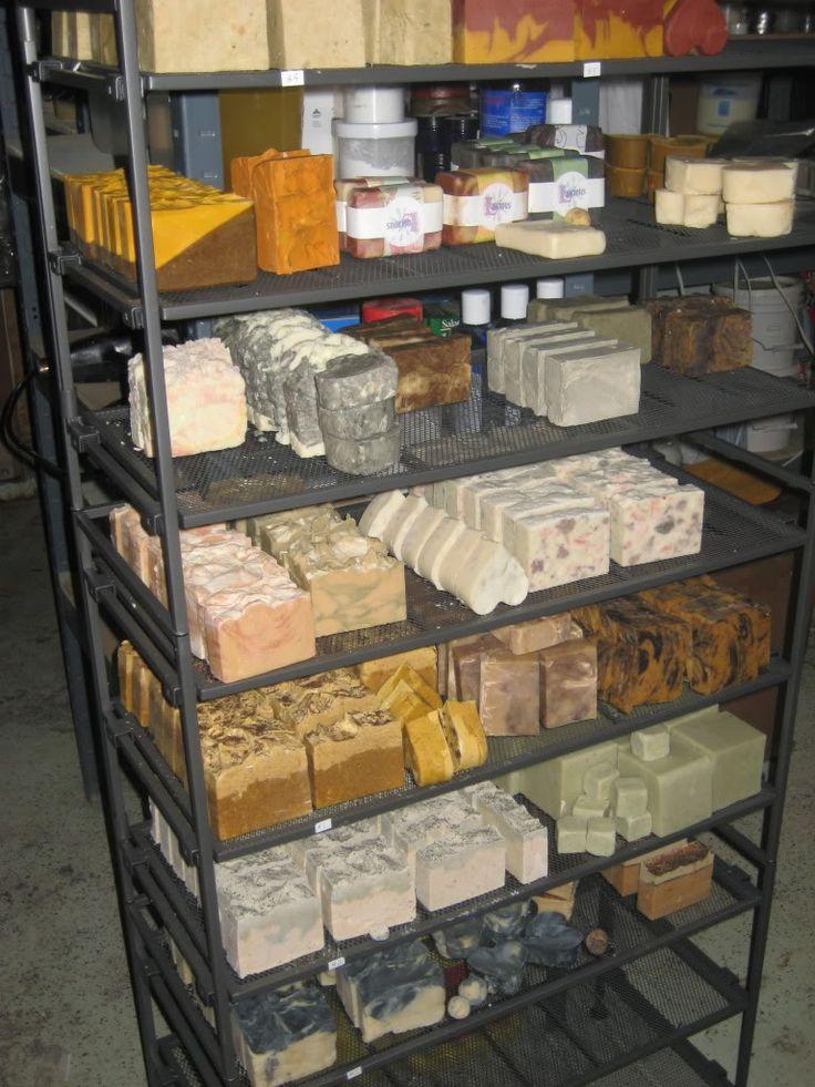 soap drying rack | workshop / display ideas | Pinterest