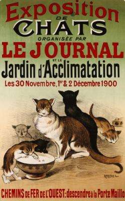 Cat show (1900).