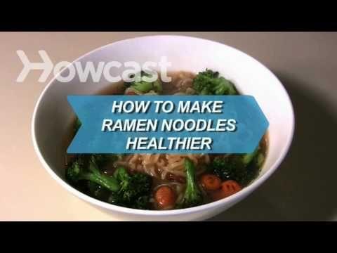 how to make healthier ramen noodle soup | soups | Pinterest