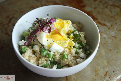 Spring Quinoa Salad with Feta | Recipe