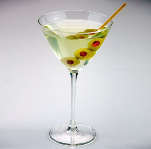 Dirty Martini - could use one of these right now ;)