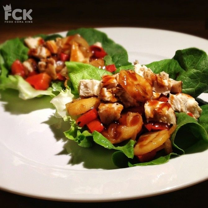 Asian Chicken Lettuce Wraps | Deliciousness | Pinterest