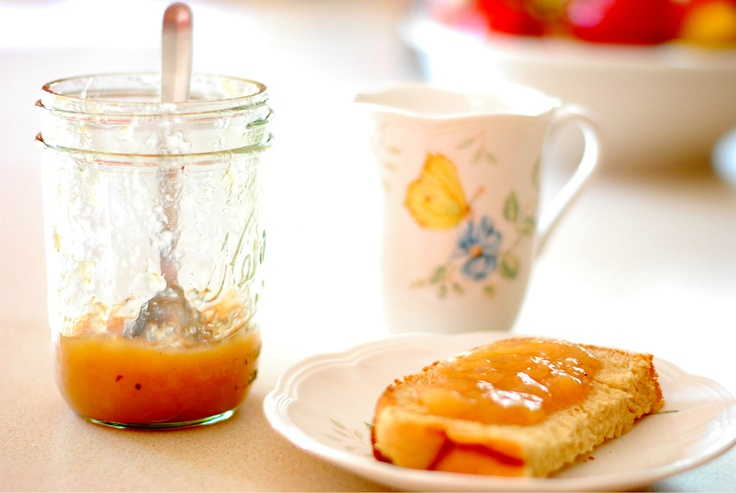 Vanilla Spiced Nectarine Pear Jam | Cooking | Pinterest