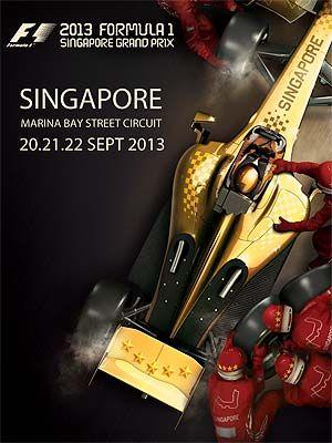 formula 1 singapore artists