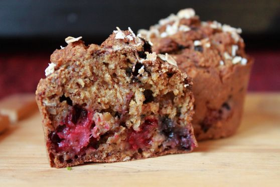 "Mixed Berry Muffins | ""Just a Little Bit"" Healthful... January 2014..."