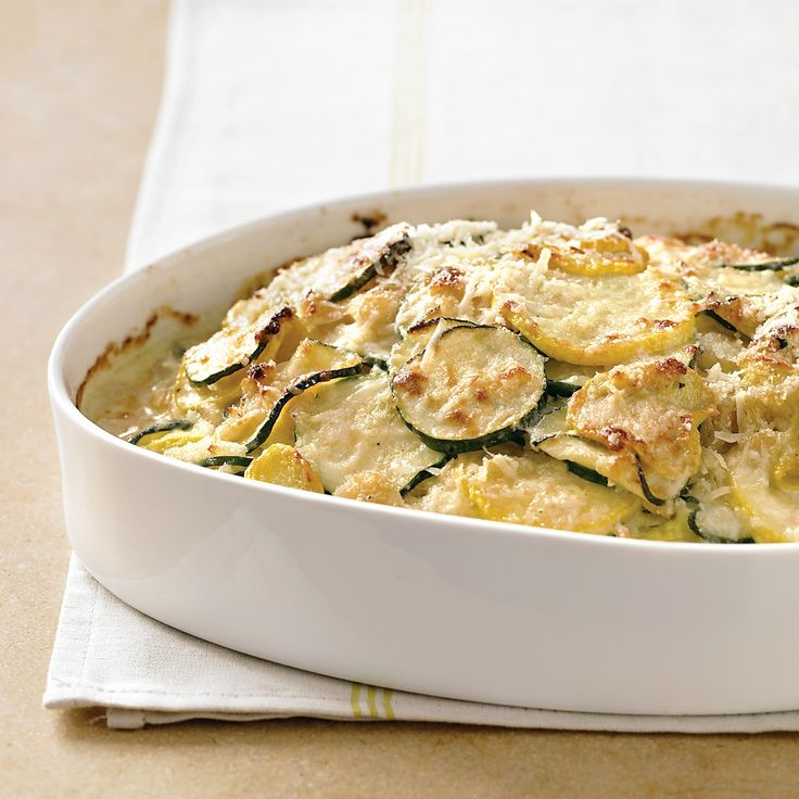 Zucchini and Yellow Squash Gratin | Recipe
