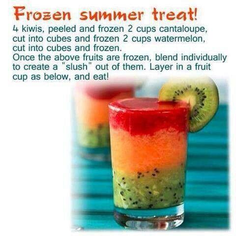 Frozen Summer Slushie. Yum!!! | Food | Pinterest