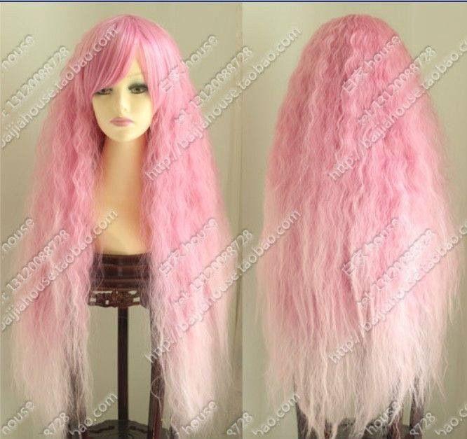 Rhapsody Pink Wig 12