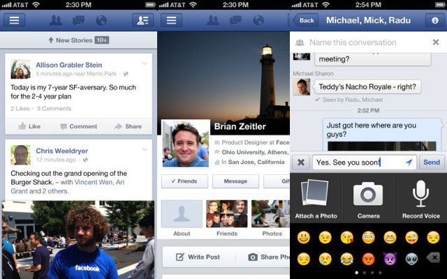 ... Group Messaging and allows to change the cover photo from iPhone