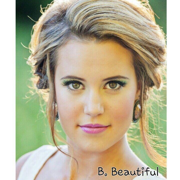 Summer wedding hair and makeup :) bbeautifulartistry.blogspot.com ...