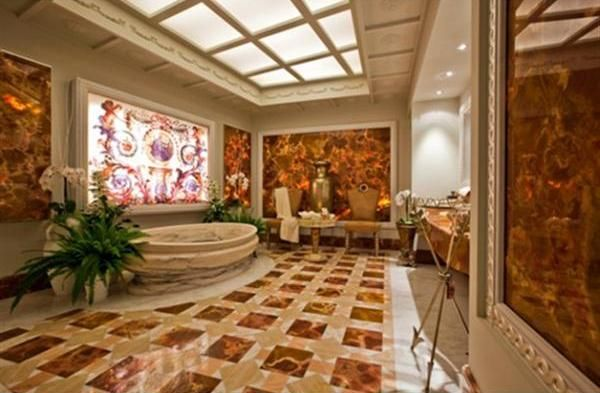 Roman style luxury bathroom architecture historic for Roman interior designs