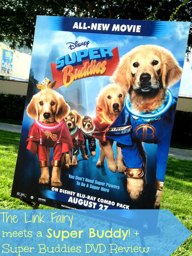 Meeting a Super Buddy + Super Buddies DVD review! #SuperBuddies