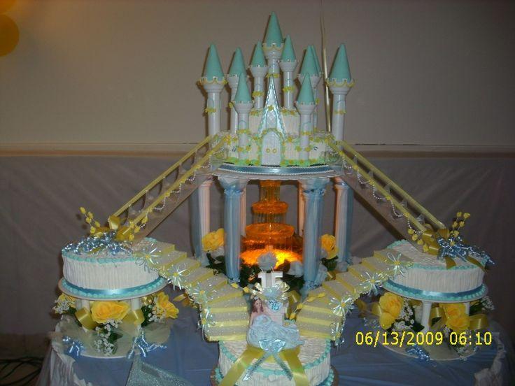 La Quinceanera Castle Cake Cakes Pinterest