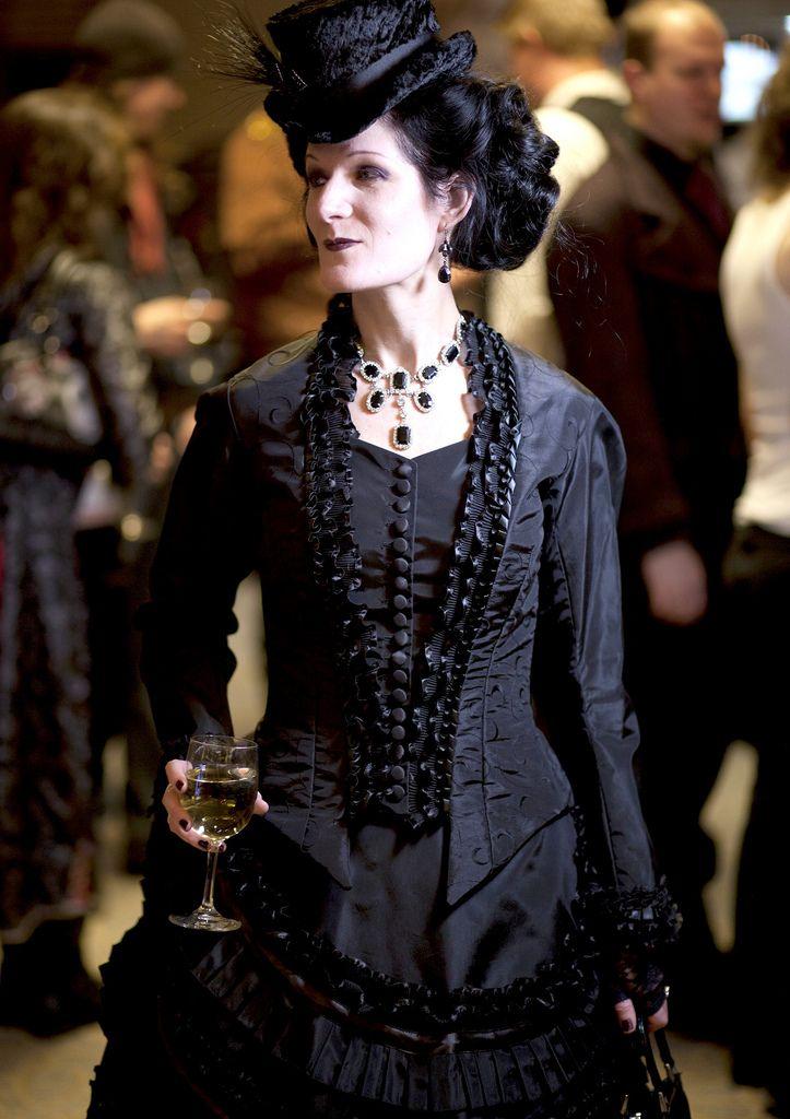 Elder Goth In Full Victorian Regalia My Style No