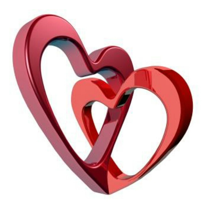 Love this 2. Hearts together | Hearts | Pinterest
