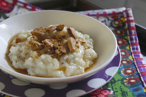 vanilla ginger rice pudding | Food-Dessert | Pinterest