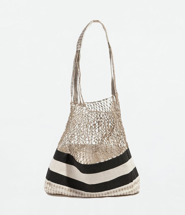 Beach Bag: Beach Bag Zara