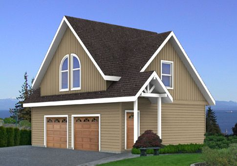 House plans the the taylor build a house yourself Log garage kits with loft