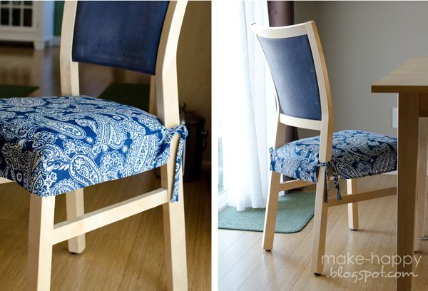 Diy Seat Cushion Covers For The Home Pinterest