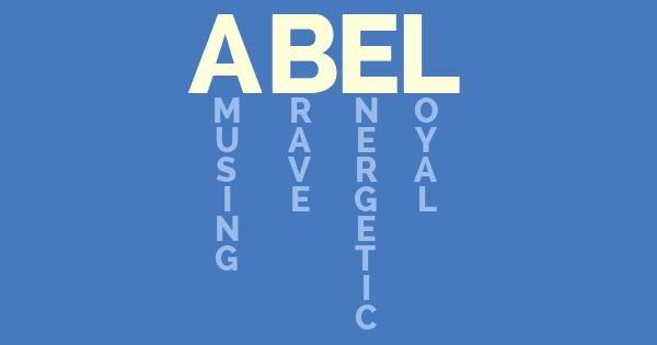 meaning of abel logo 39 abel 39 pinterest. Black Bedroom Furniture Sets. Home Design Ideas