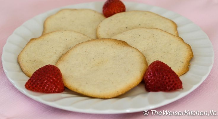 Almond Cardamom Tea Cookies | Recipe
