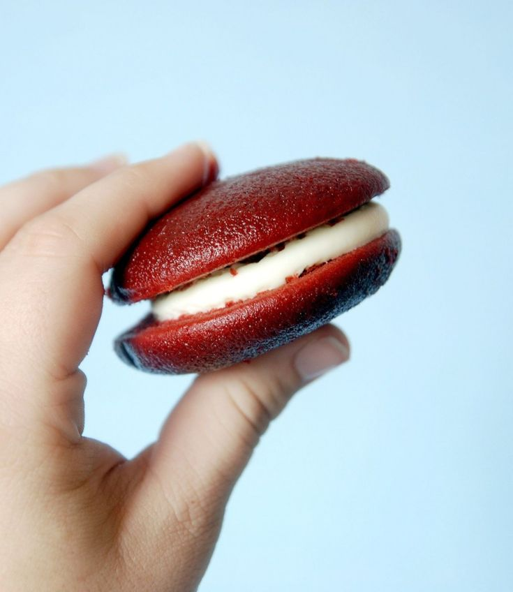 Red Velvet Whoopie Pies with Cream Cheese Frosting | Recipe