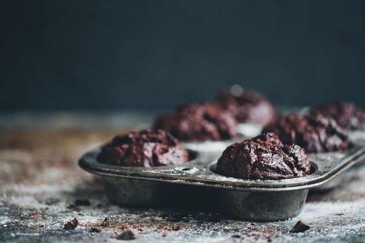 Green Kitchen Stories » Double Chocolate Rye Muffins