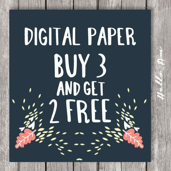 Buy 3 Get 2 Free - Digital Paper, premade pages, scrapbooks premade p ...: pinterest.com/pin/440789882250338692