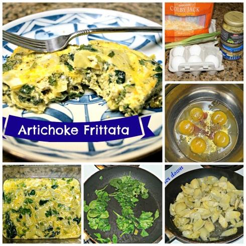 Artichoke And Spinach Frittata Recipe — Dishmaps