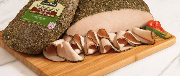 Boar's Head All Natural Tuscan Brand Roasted Turkey Breast ...