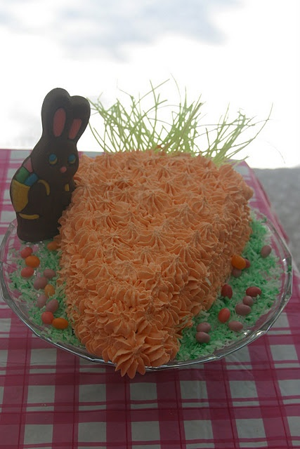 Cake Decorating Carrot Shaped : Carrot Shaped Cake Yummy Food Pinterest
