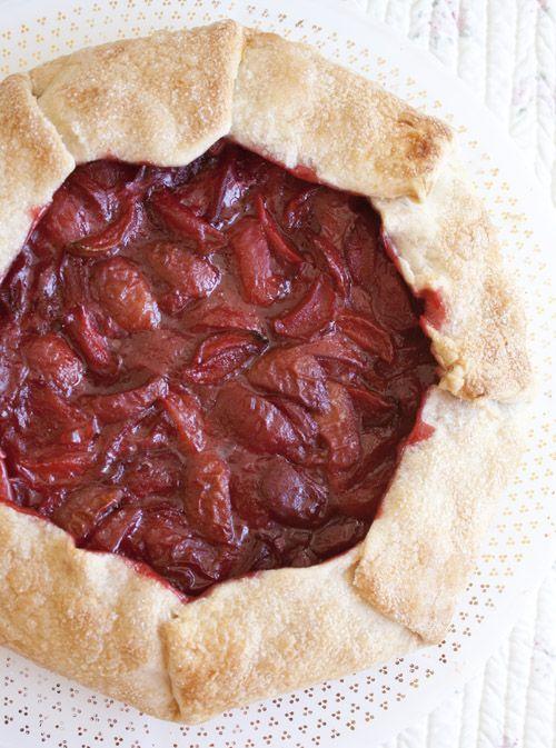 Rustic Plum Tart | Yummy Desserts | Pinterest