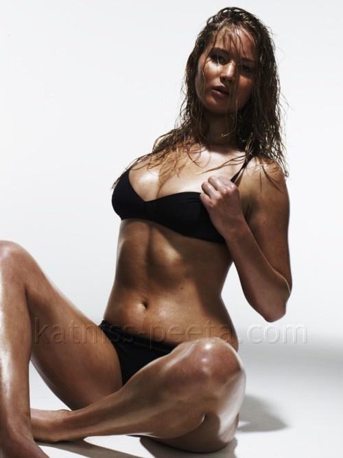 Jennifer Lawrence Mystique Makeup Process Jennifer Lawrence Uned...