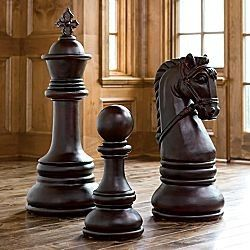Jcpenney Decorative Chess Pieces Chess Obsessed Pinterest