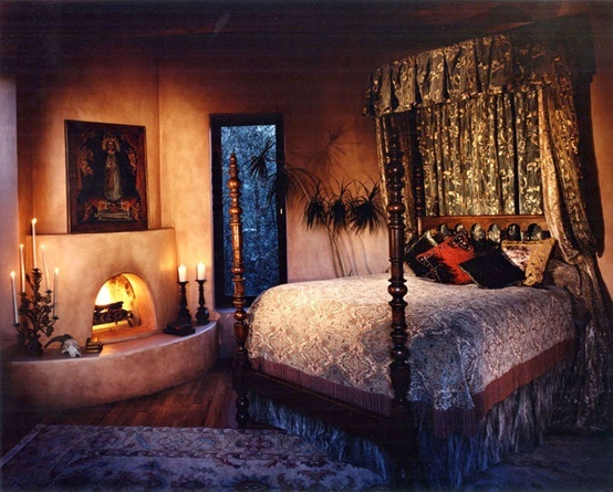 Romantic master suite design and decor the big picture for Spanish bedroom decor
