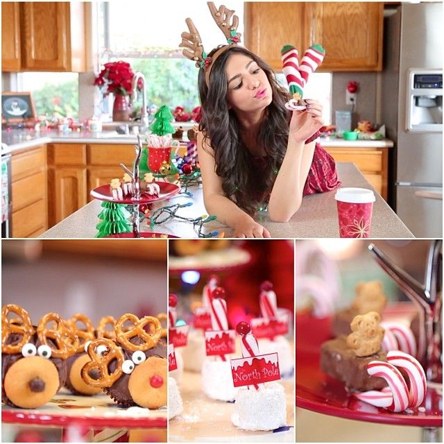 Decorating Ideas > @Bethany Mota  New Video! Easy & Cute DIY Holiday Treats  ~ 120818_Diy Christmas Decorations Ideas Bethany Mota