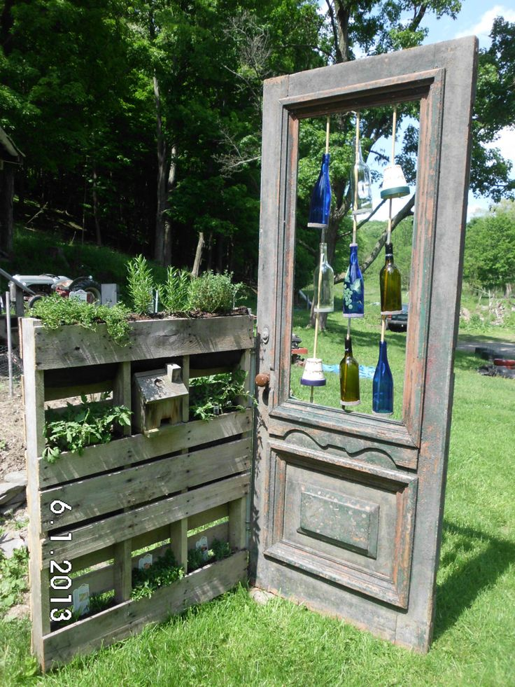 Herb Garden Pallet Awesome Pinterest