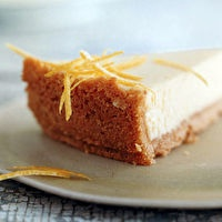 Passover Lemon Cheesecake by Gourmet, submitted by Melissa Roberts