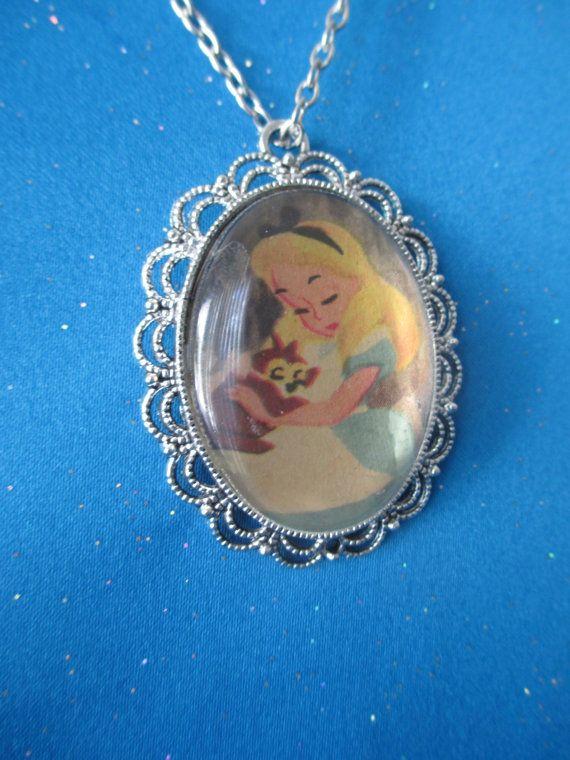 imitation handbags Alice in Wonderland Castle Necklace