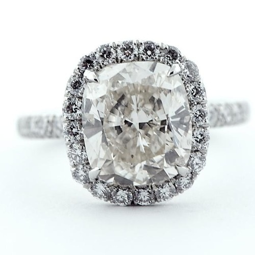 Elongated Cushion cut rings rings and more rings