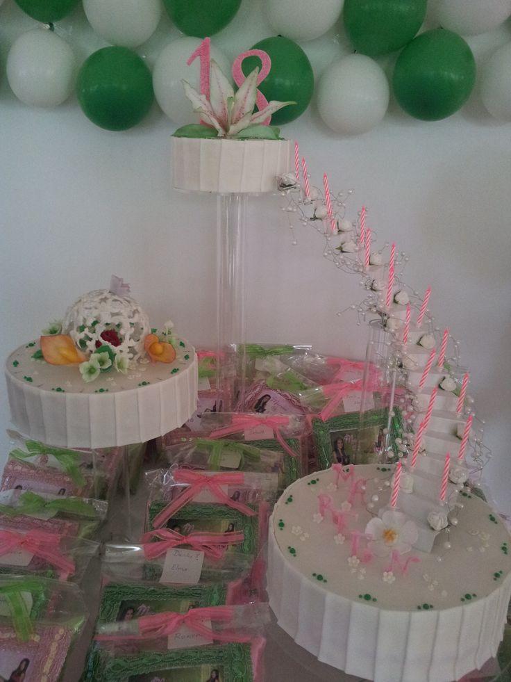 Debut Cake My cotillion-details-ideas Pinterest