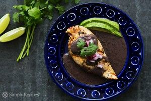 Grilled Lime Chicken with Black Bean Sauce | Recipe