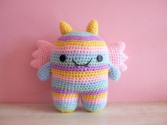 Amigurumi Baby Monsters : Cutesie Monsters - Crocheted Plush Amigurumi Doll Birthday ...
